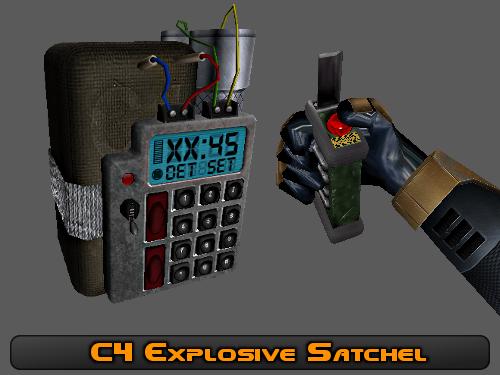 Взрывчатка С4 - Модели - Сборка файлов для Half-Life - BTW